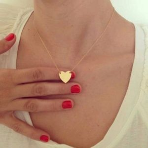 5 for $25 Dainty Delicate Heart Pendant Necklace